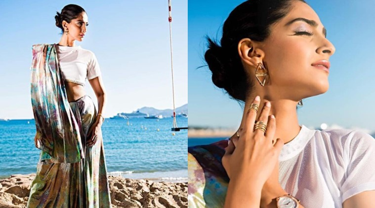 Sonam Kapoor at Cannes film festival