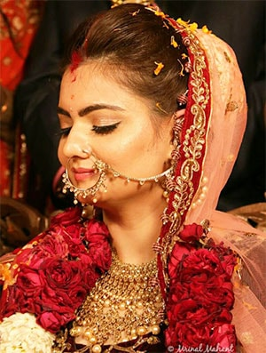 bridal makeup-min - Best Bridal Makeup Artist in Delhi NCR